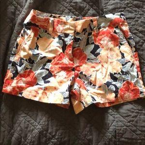 NWOT floral pattern shorts